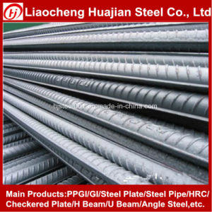 8-32mm Hot Rolled Screw Thread Steel Rebar pictures & photos