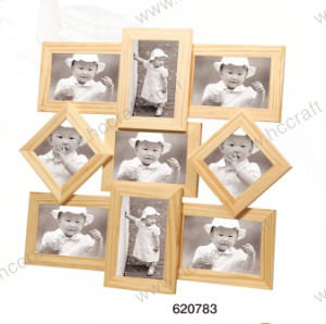 Solid Wooden Collage Photo Frame pictures & photos