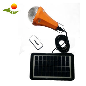 Mini Solar Power System with Dimmable Solar Lamp Solar Home Lighting System Sre-99g-1 pictures & photos
