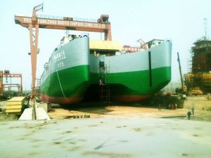 CCS Certificated Ship Launching Airbag Made by Natural Rubber with Mutil Applications