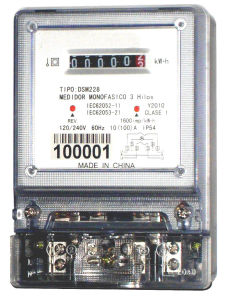 Single Phase Two Wire Electronic Energy Meter (Dsm228-05, PC Casing)