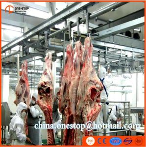 Muslim Slaughteing Machine Manufacture Cattle Goat Butchery Machines Sheep Lamb Slaughtering Line pictures & photos