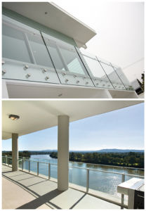 Stainless Steel Glaa Balustrade/ Glass Railing (PR-10) pictures & photos