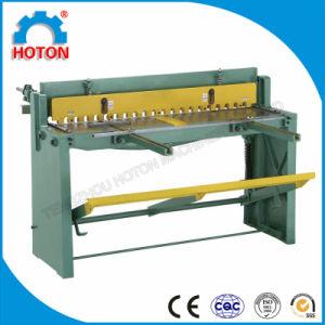 Foot Guillotine Shearing Machine (Sheet Metal Shearing Q01-1.5X1320 Q01-1.0X1000 Q01-2X1000) pictures & photos