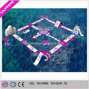 Lilytoys 2017 Summer Inflatable Water Amusement Park for Summer (J-Water Park-40)