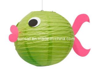 China paper lantern fish aniaml paper lantern china for Paper lantern fish