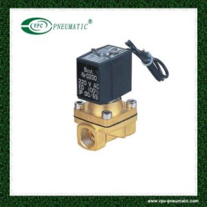 Vx2120-08 Normal Closed Direct Acting Liquid Viton High Temprature Brass 2/2 Solenoid Valve pictures & photos