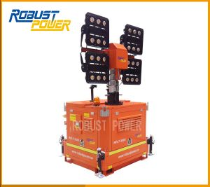 High Stability 4*480W Portable Diesel Engine Light Tower pictures & photos
