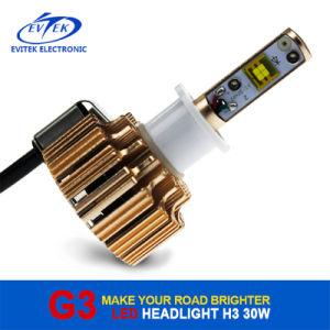 G3 LED Headlight Bulb H3 Car LED Headlight 60W 6400lm for Car Headlamp Conversion Kit 6000k pictures & photos