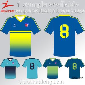 Healong Sublimated Team Wear Soccer Jersey pictures & photos