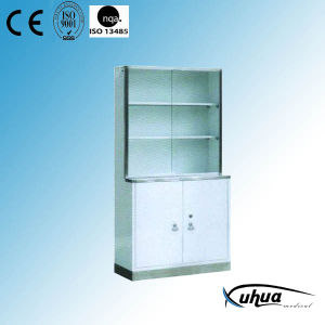 Hospital Medicine Cupboard with Stainless Steel Base (U-5) pictures & photos