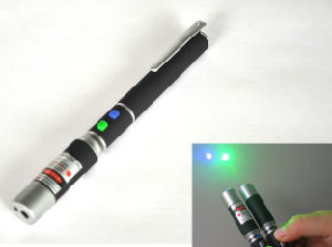 2 in 1 Red and Green Laser Pointer