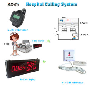 Nurse Call System Push Button K-W2-H Emergency Nurse Call Service System pictures & photos