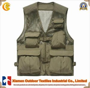 Fashion Functional Outdoor Fishing Safety Vest