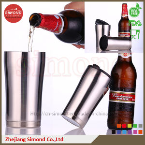 350ml Stainless Steel Vacuum Beer Mug for Warm/Cold Drink pictures & photos