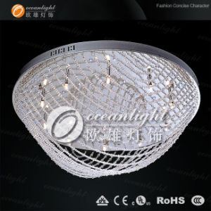New modern Asfour crystal chandelier with LED OM948-round pictures & photos