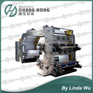 Roll Coated Paper Flexo Printing Machine (CH884) pictures & photos