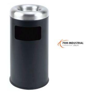 Built-in Black Powder Coated Steel Trash Bin& Indoor Waste Bin pictures & photos