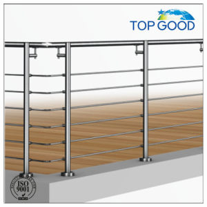 Stair Position Railings with Cross Bar Holder pictures & photos