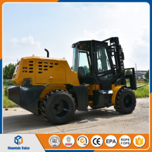 Ce Approved 4W Diesel All Terrain Forklift pictures & photos