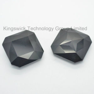 Jet Black Square Crystal Point Back Stone pictures & photos