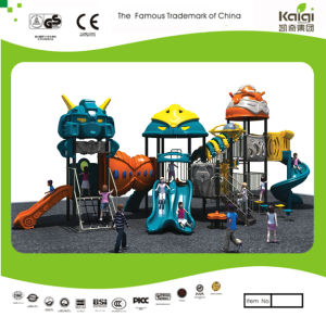 Kaiqi Medium Sized Cool Robot Themed Children′s Playground (KQ20068A) pictures & photos