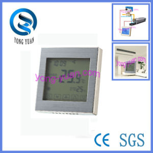 2-Pipe Touch Screen Metal Drawing Panel Room Thermostat (Mt-03-2)
