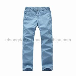 High Quantity Cotton Spandex Men′s Trousers (MSMRBCH) pictures & photos