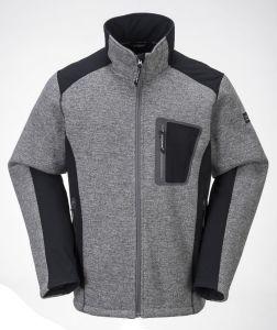 Men′s Fleece Jacket with New Design pictures & photos