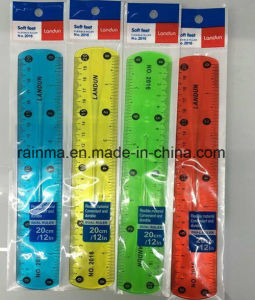 20cm Transparent Clear Plastic Scale Ruler pictures & photos