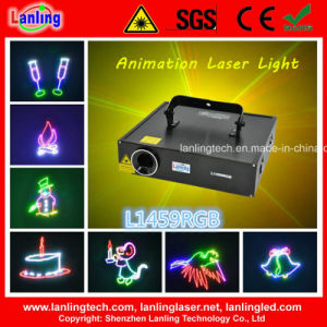 1.5W RGB Christmas Party Animation Stage Laser Light pictures & photos