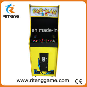 Coin Operated Arcade Video Game Arcade Cabinet with PAC Man Games pictures & photos