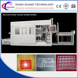 Plastic Vacuum Forming Machine Servo for Biscuit Tray Container pictures & photos