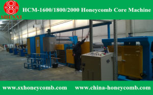 Hcm-2000 Honeycomb Core Making Machine Line pictures & photos