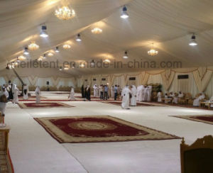 500 Seater Luxury Outdoor Wedding Party Tent Lining Marquee Price pictures & photos