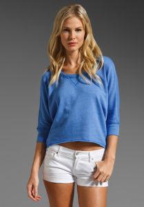 Lady Fashion Cotton T-Shirt (FC000217) pictures & photos