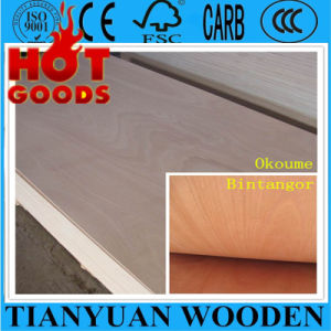 4X8 Okoume/Bintangor Commercial Plywood for Furniture pictures & photos