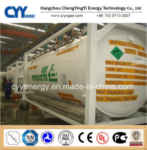 Cryogenic Liquid Oxygen Nitrogen Argon Tank Container pictures & photos