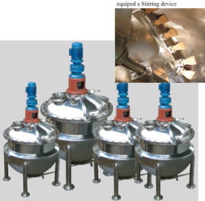 Jacketed Kettle for Sugar Melting with Agitator pictures & photos