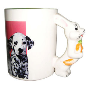 Animal Ceramic Mug-Rabbit