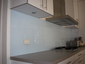 Toughened Splash Back Glass with Austrailan Csi Certification pictures & photos
