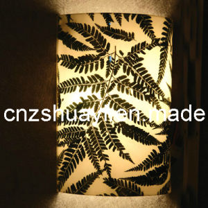 Resin Panel Clip Plants Lampshade (ZR-100) pictures & photos