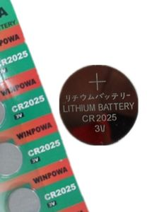 PC Remote Control 3V Lithium Button Watch Battery (CR2025)