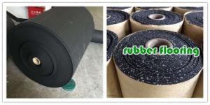 Noise Reduction EPDM Rubber Sheet Floor Mat Flooring pictures & photos