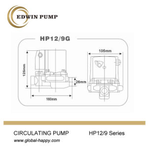 HP12/9g Household Automatic Circulation Pump pictures & photos