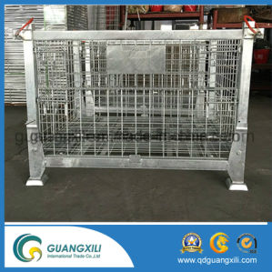 Warehouse Storage Galvanized Wire Mesh Containers in Lifting Type pictures & photos