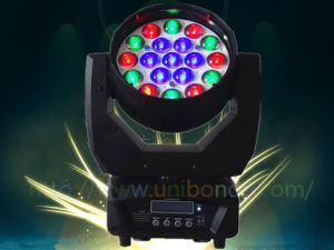 19*12W RGBW 4in1 Zoom LED Moving Head Beam Light pictures & photos