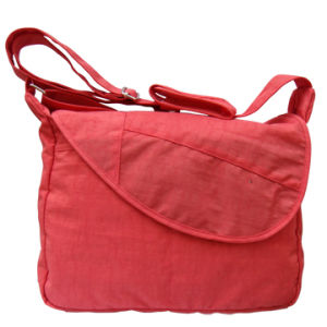 Leisure Simple Lady′s Polyester Shoulder Bags pictures & photos