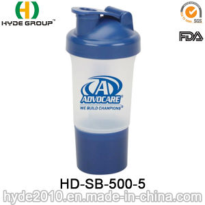 500ml Hot-Selling Protein Smart Shaker Bottle (HD-SB-500-5) pictures & photos