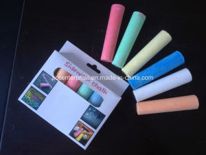 White and Colored Dustless Chalk pictures & photos